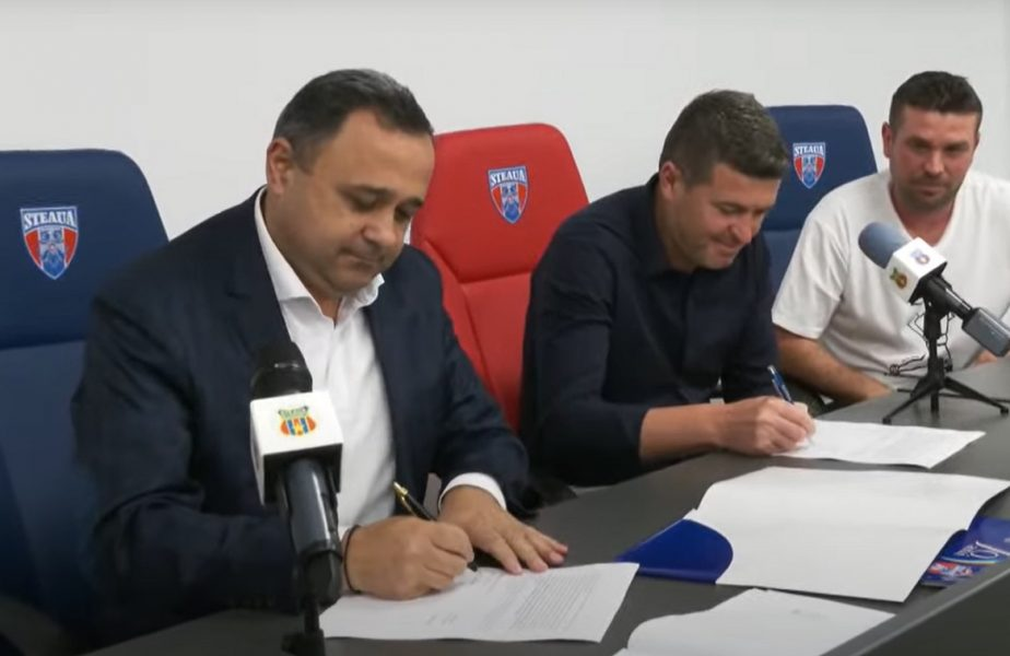 "Daniel Opriţa a semnat noul contract cu CSA Steaua. ""Ne-am atins primul obiectiv"""