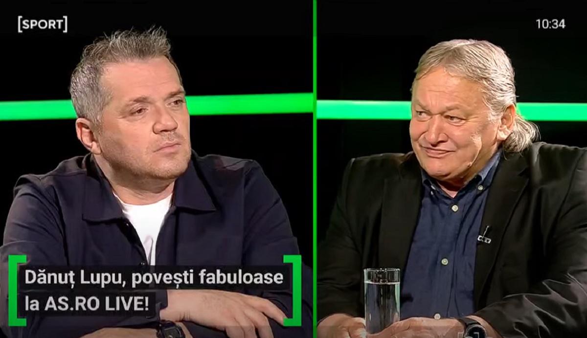 """EXCLUSIV AS.ro LIVE   Dănuţ Lupu, amintiri fabuloase. Cum a lăsat hocheiul pentru fotbal. """"Nu cred că am scris trei caiete din clasa a 4-a până în a 8-a"""""""