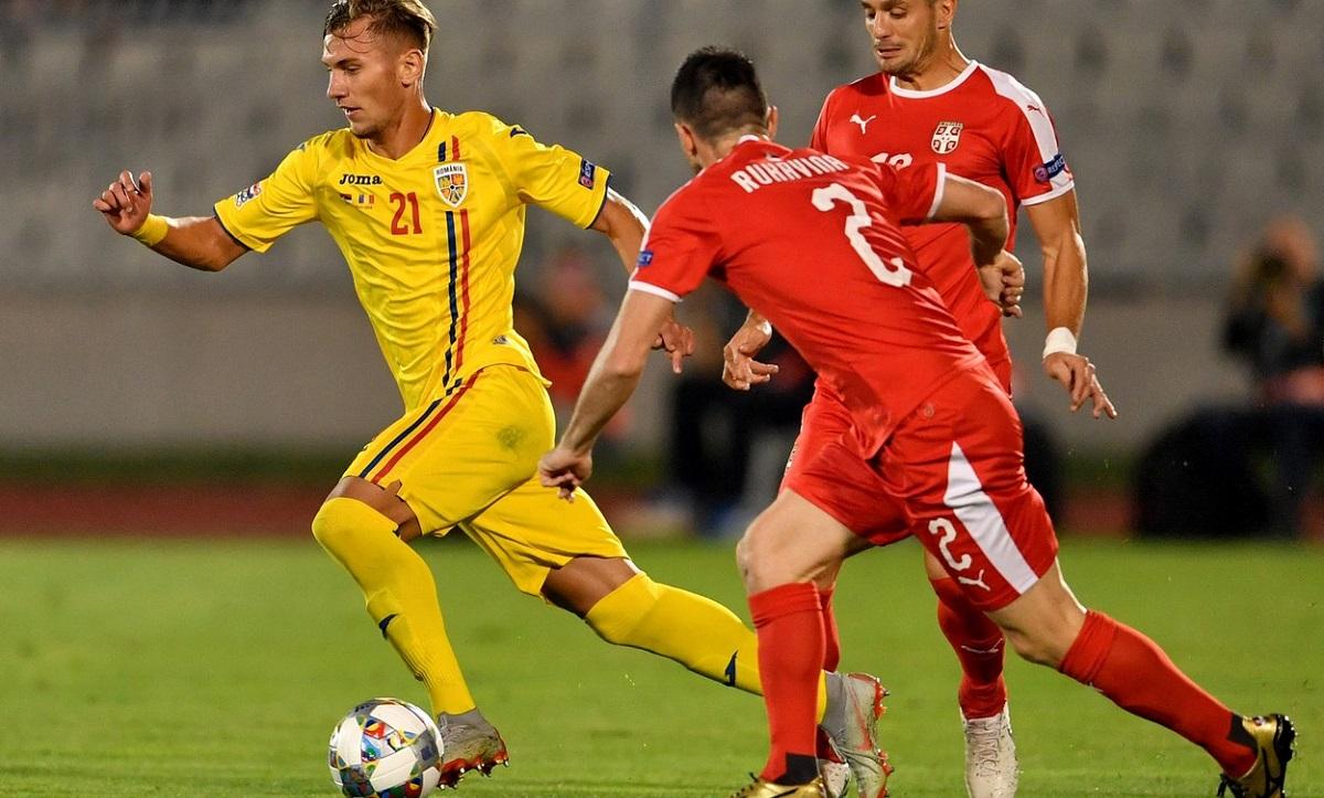 Denis Drăguş, în tricoul echipei naţionale