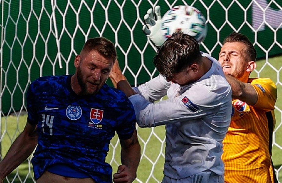 Euro 2020 | Dubravka a făcut un Karius! Autogol halucinant în Slovacia – Spania