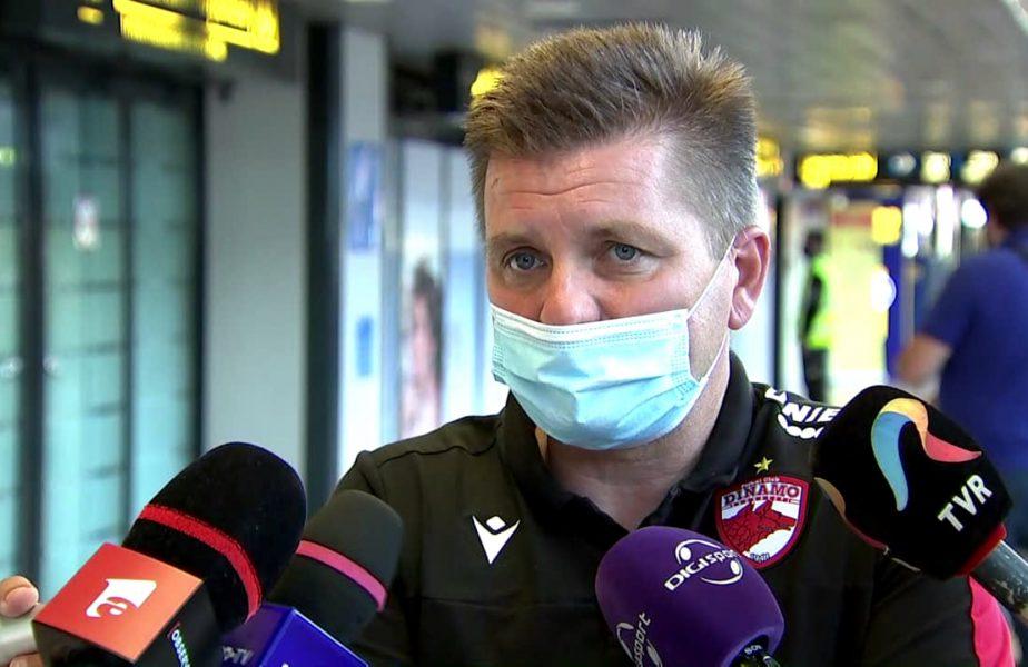 """Dusan Uhrin, ultimatum pentru conducere la revenirea în ţară. """"Trebuie să aducem şase sau şapte jucători"""". Termenul stabilit de antrenorul lui Dinamo"""