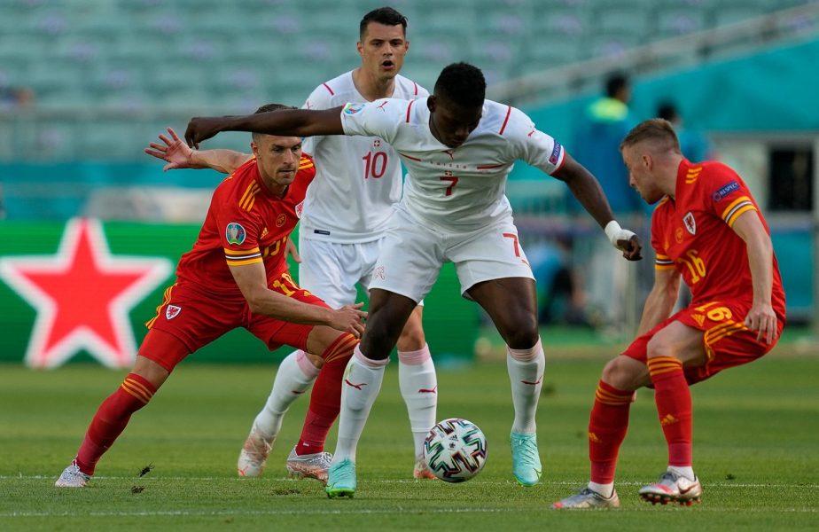 Euro 2020 | Ţara Galilor – Elveţia 1-1. Remiză cu goluri între echipele lui Bale şi Shaqiri! Final nebun pe Stadionul Olimpic din Baku