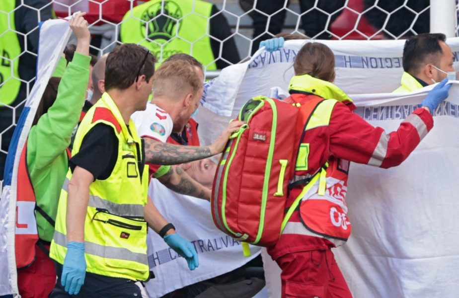 Euro 2020 | Scene emoționante la Budapesta! Suporterii maghiari au scandat în urale numele lui Christian Eriksen