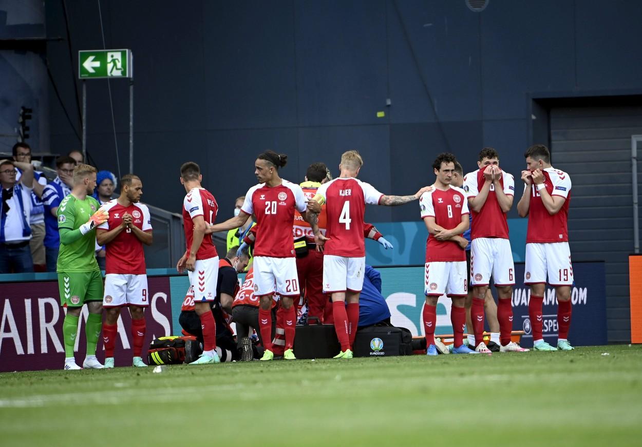"""EURO 2020   """"Am vorbit cu tatăl lui!"""" Ultimele detalii despre starea de sănătate a lui Christian Eriksen: """"Poate să vorbească!"""""""