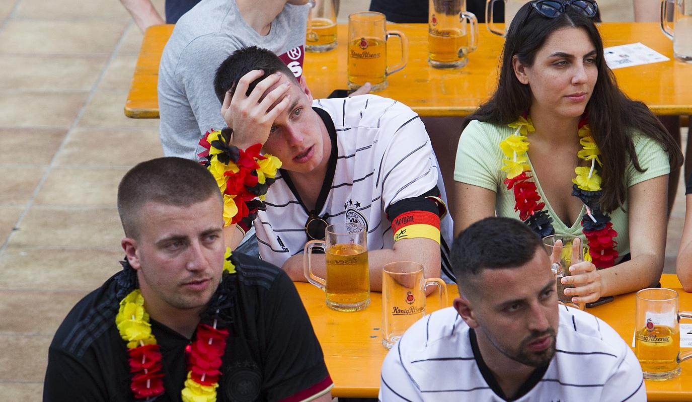 Anglia - Germania 2-0   Momente incredibile: fanii germani au văzut gol la ratarea uriaşă a lui Thomas Muller