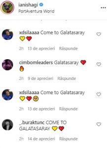 Fanii îi cer lui Ianis Hagi să semneze cu Galatasaray