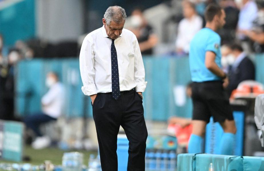 """Reacţia selecţionerului Fernando Santos după ce Portugalia a fost umilită de Germania. """"Colectivul nostru s-a pierdut"""""""