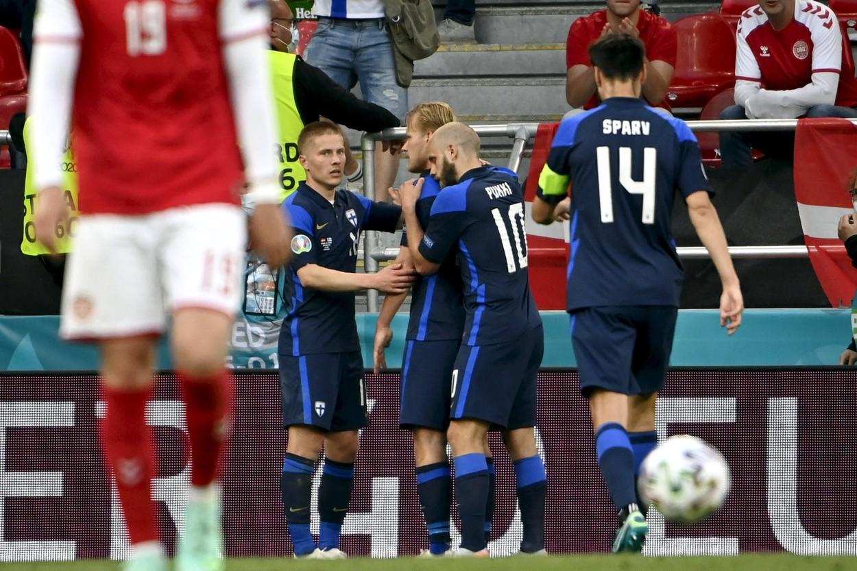 Euro 2020   Danemarca – Finlanda 0-1! Finlandezii, victorie uriaşă la prima participare din istorie la Campionatul European. Danezii, fără replică după ce Eriksen s-a prăbuşit pe teren şi a fost resuscitat