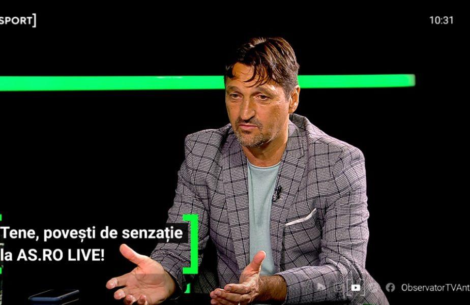 """""""Era un penalty și se aude: Tenee, Teneee… Pițișor vrea să faci zid :)"""" Florin Tene, povești de senzație cu """"Piți"""" Varga: """"Era spectacol!"""""""