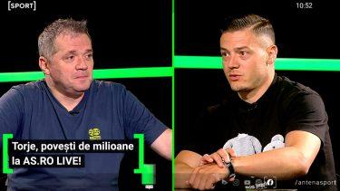 """""""Visam să ajung la EURO și am ajuns în Herăstrău!"""" :) Gabriel Torje, fără secrete la AS.ro LIVE! Mijlocașul era înnebunit după dulciuri"""