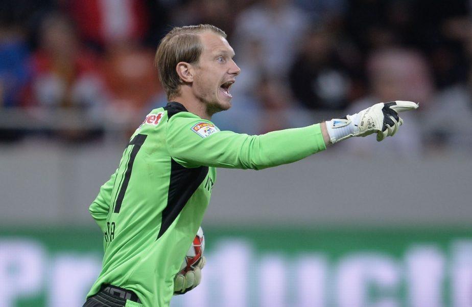 CFR Cluj l-a convins pe Giedrius Arlauskis! Lituanianul rămâne la campioană pentru grupele europene