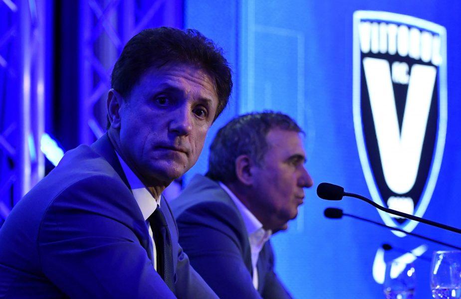 Gică Popescu şi Gică Hagi, la o conferinţă a Viitorului