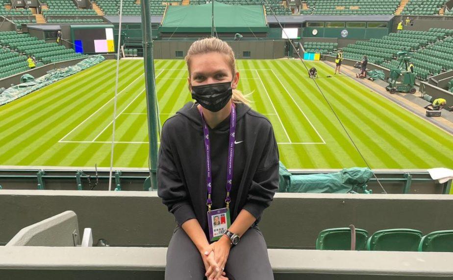 Simona Halep, la Wimbledon 2021