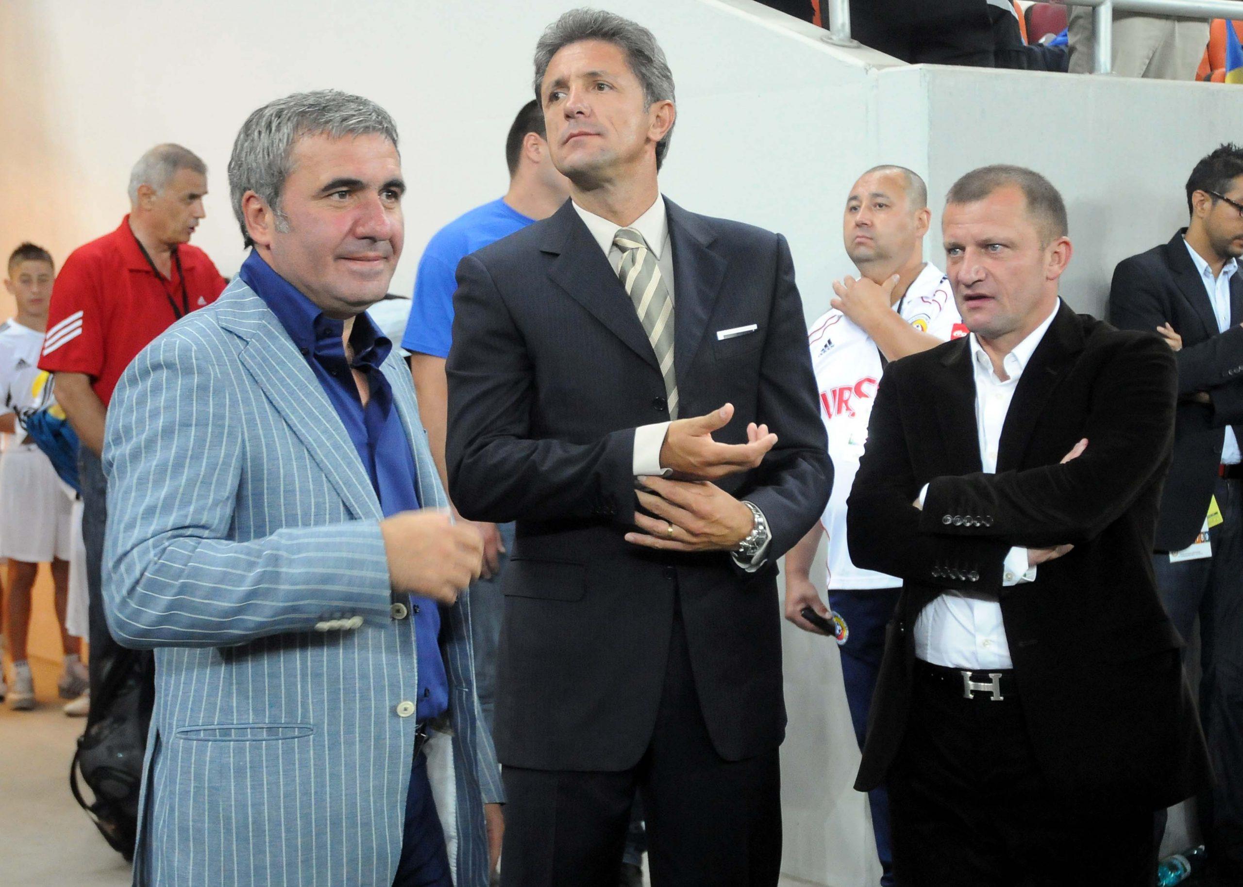 Gică Hagi și Gică Popescu nu mai merg pe Arena Națională