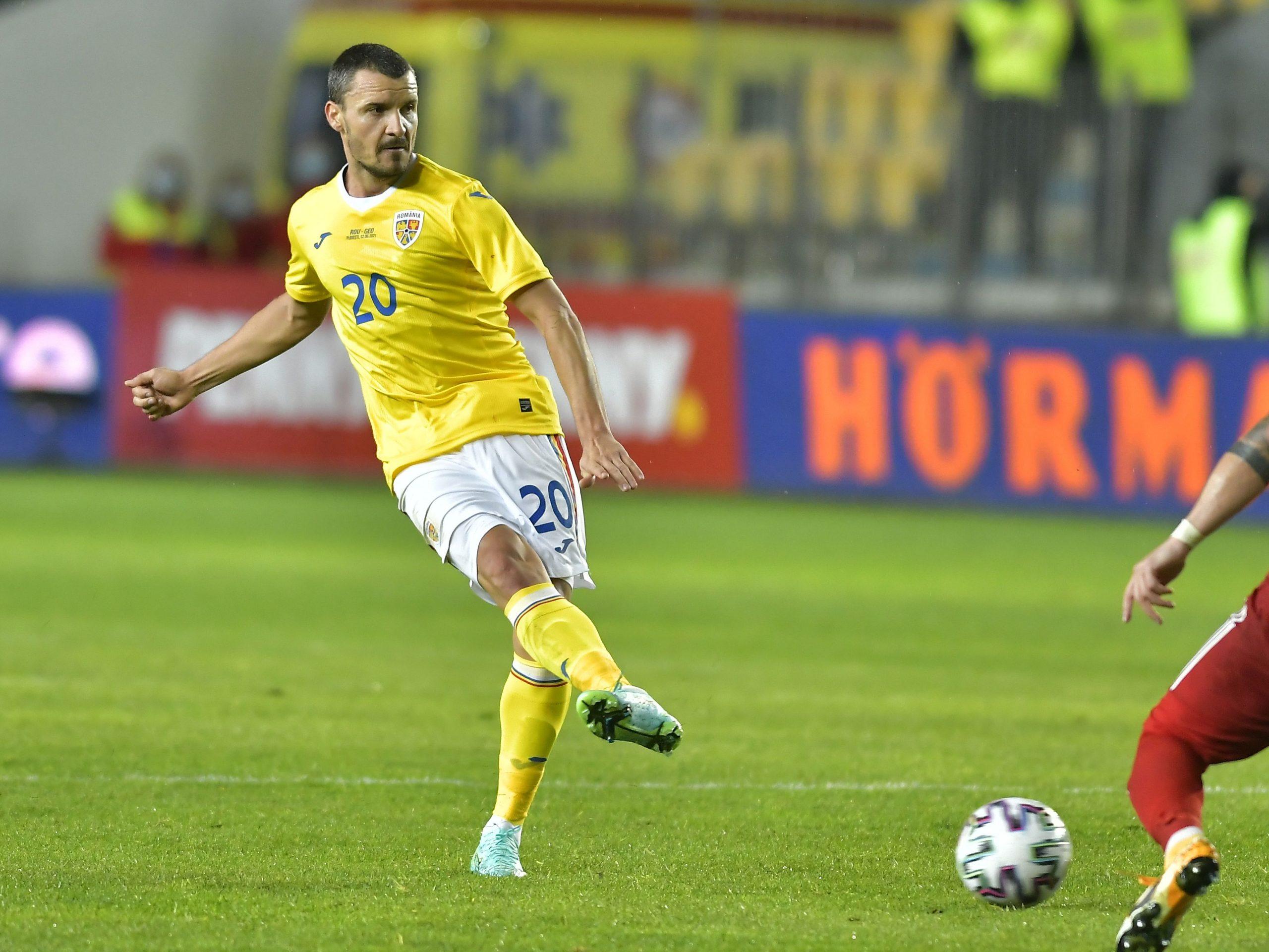 Budescu, în meciul dintre România și Georgia