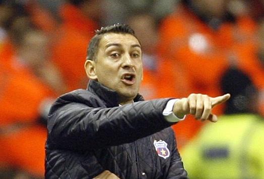 Ilie Dumitrescu, atunci când era antrenor la Steaua