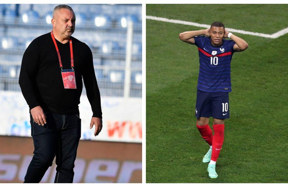 """Mihai Iosif, declarația zilei! Kylian Mbappe, așteptat la Rapid după ratarea de pe Arena Națională. """"Îl luăm să lucreze la penalty-uri cu noi"""""""