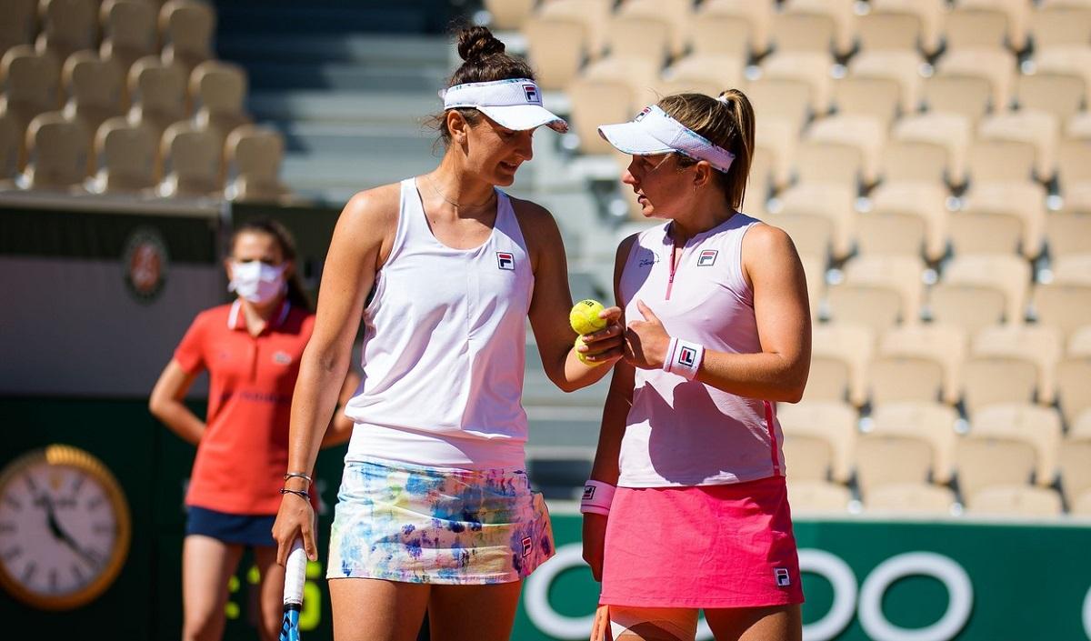 Irina Begu şi Nadia Podoroska, la Roland Garros 2021