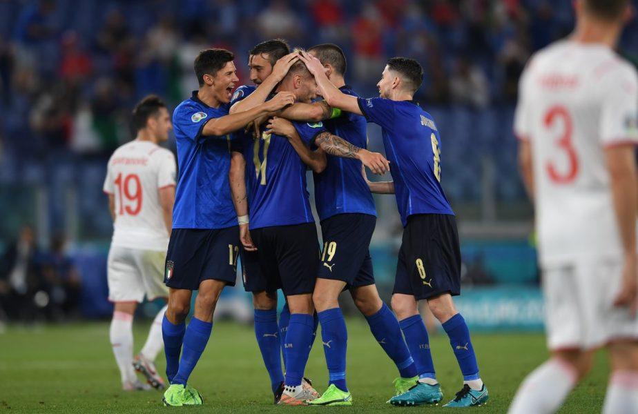 EURO 2020 | Se ştiu primele meciuri din optimile de finală! Italia, meci de foc pe Wembley. Cu cine joacă Danemarca + Ce echipe s-au calificat până acum