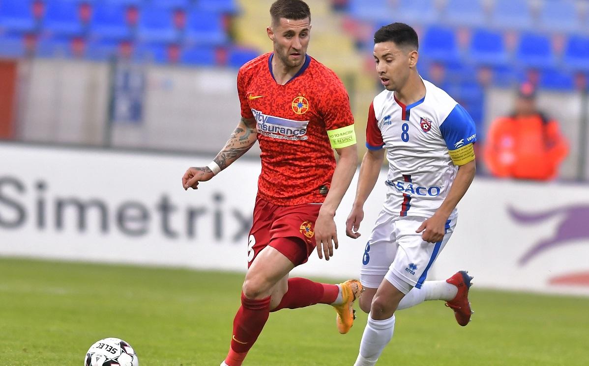 Jonathan Rodriguez, în meciul FC Botoşani - FCSB