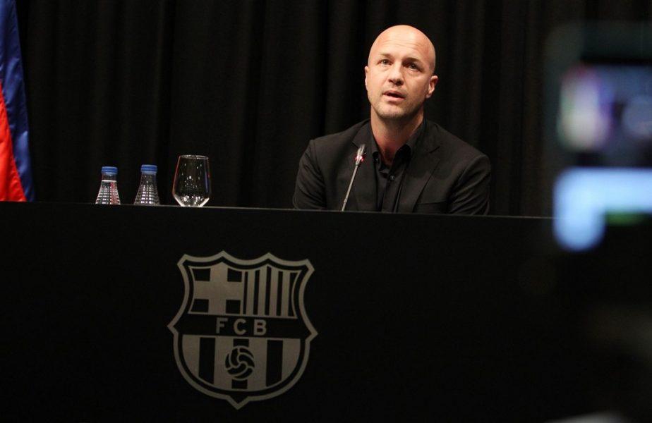 Fiul lui Johan Cruyff s-a întors la Barcelona