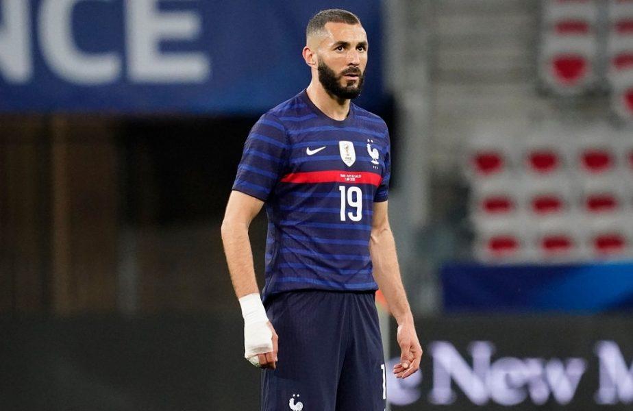Karim Benzema, penalty ratat în Franţa – Ţara Galilor 3-0. Atacantul lui Real Madrid a jucat după 6 ani la echipa naţională