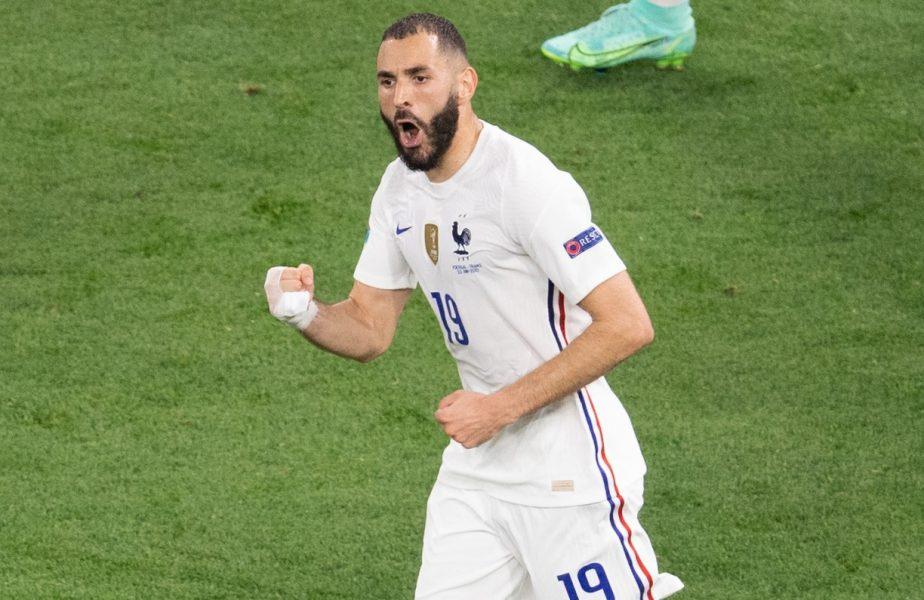 Franţa – Portugalia 2-2 | Karim Benzema a oprit timpul! Moment SF la Euro 2020. Cum a marcat două goluri în minutul 46:44