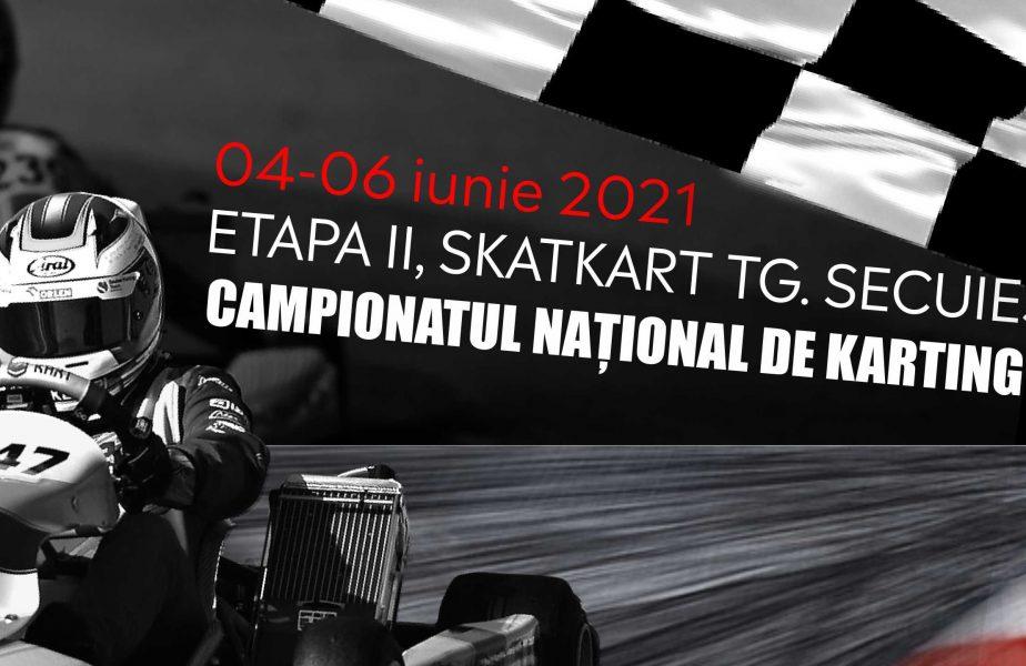 Campionatul Naţional de Karting, etapa a 2-a. Spectacol total în cursele care au avut loc la Târgu Secuiesc