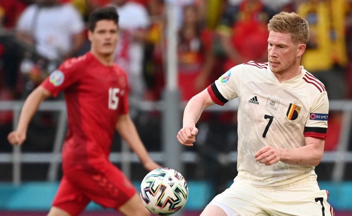 Kevin De Bruyne, Danemarca - Belgia, Euro 2020