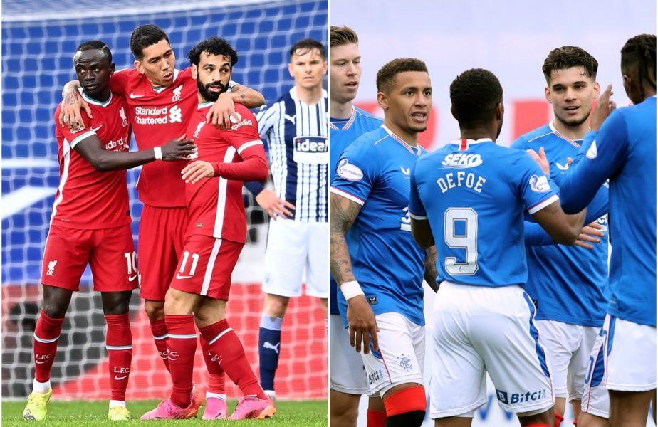 Liverpool – Rangers, amical de lux! Jurgen Klopp vs Steven Gerrard şi Ianis Hagi vs Mohamed Salah, pe Anfield Road. Meciul se poate juca cu casa plină!