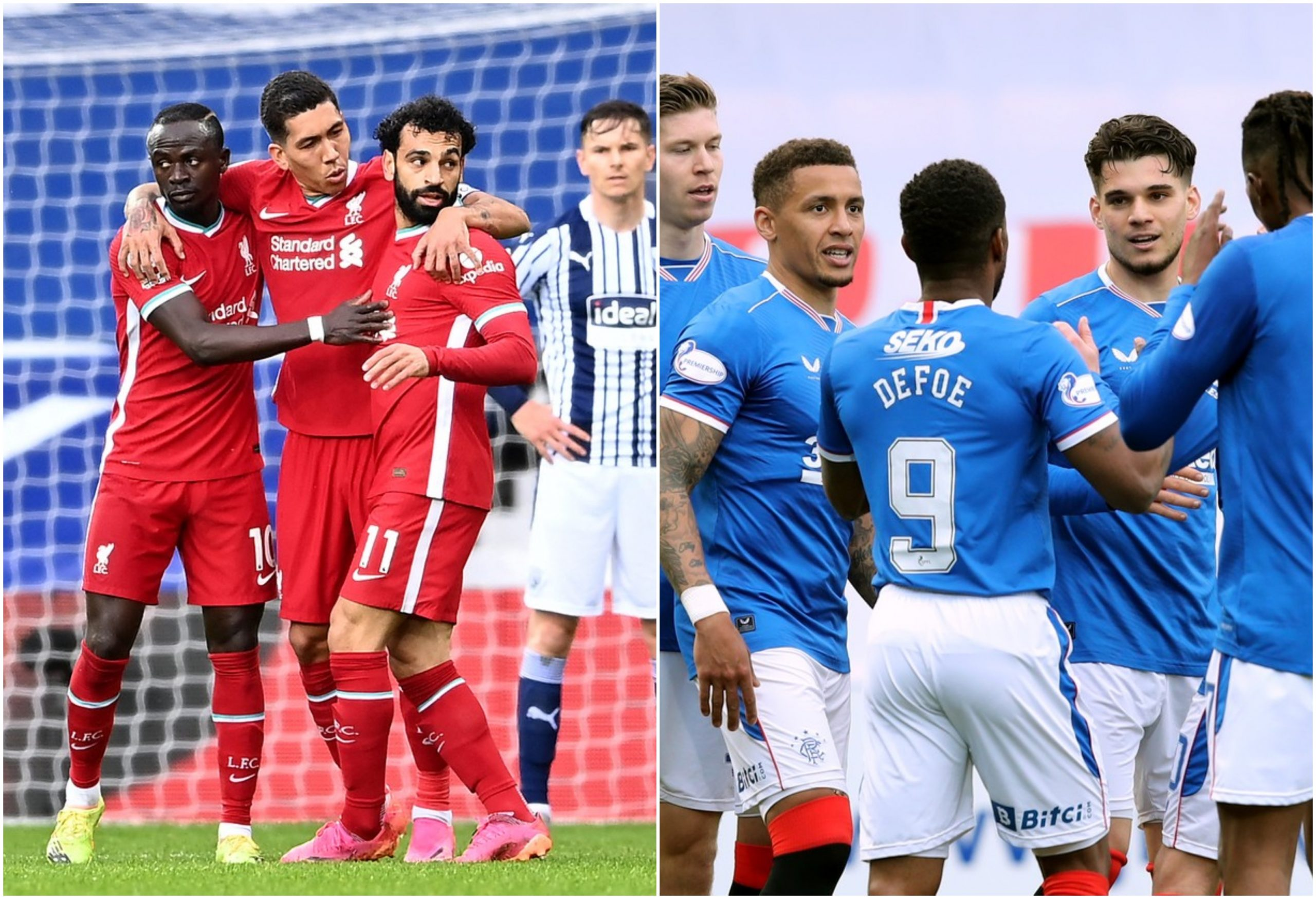 Liverpool - Rangers amical
