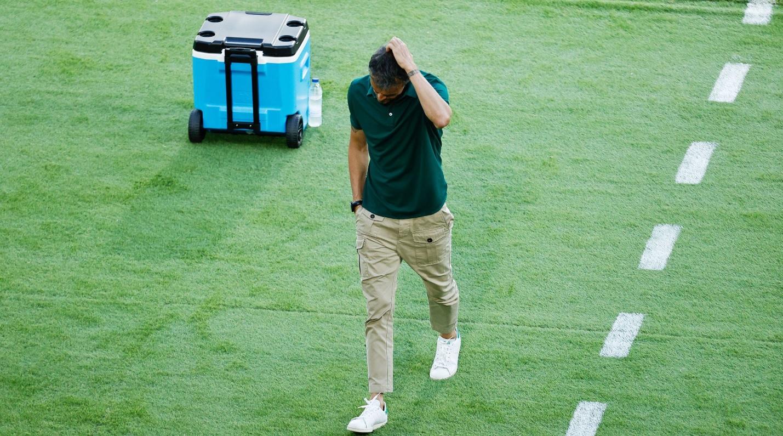 Luis Enrique, devastat după încă un meci ratat la Euro 2020
