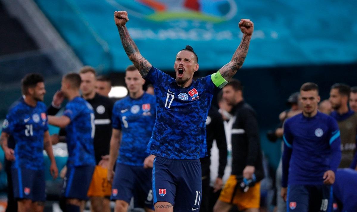 Marek Hamsik, Slovacia - Polonia, Euro 2020