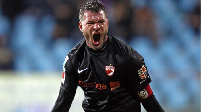 Marius Niculae, în tricoul lui Dinamo