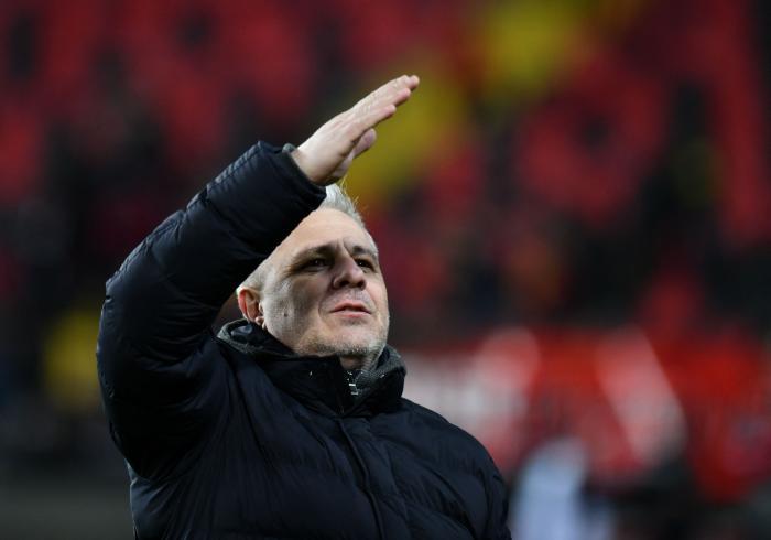 Marius Şumudică, impresionat de şefii lui CFR Cluj