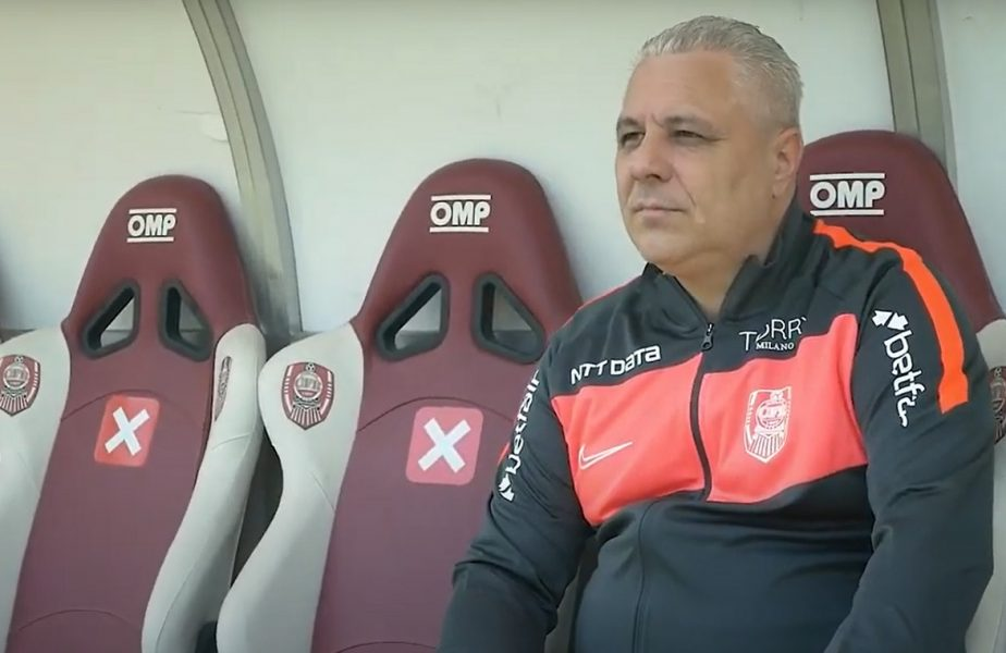 Marius Șumudică, debut perfect la CFR Cluj