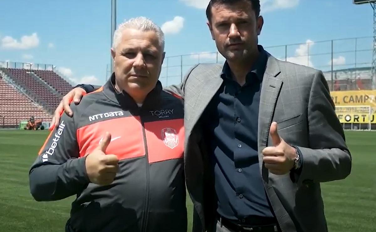 """Marius Şumudică, prezentat oficial de CFR Cluj. Primele declaraţii făcute de noul antrenor al campioanei. """"Merg până în pânzele albe!"""""""