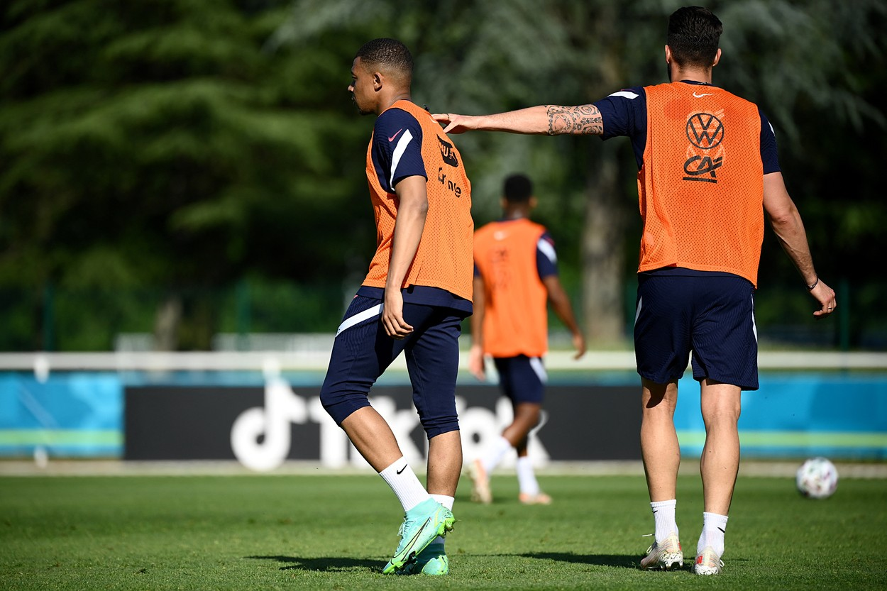 Conflict între Mbappe și Giroud, înainte de Euro 2020