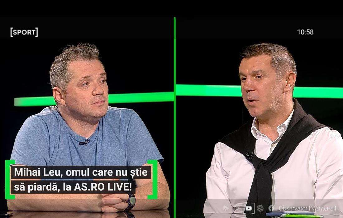 Mihai Leu, la AS.ro LIVE