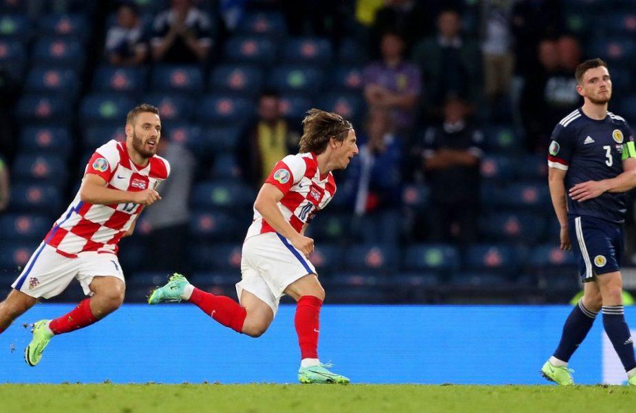 Luka Modric, golul serii la Euro 2020! Mijlocașul lui Real Madrid a rupt poarta scoțienilor