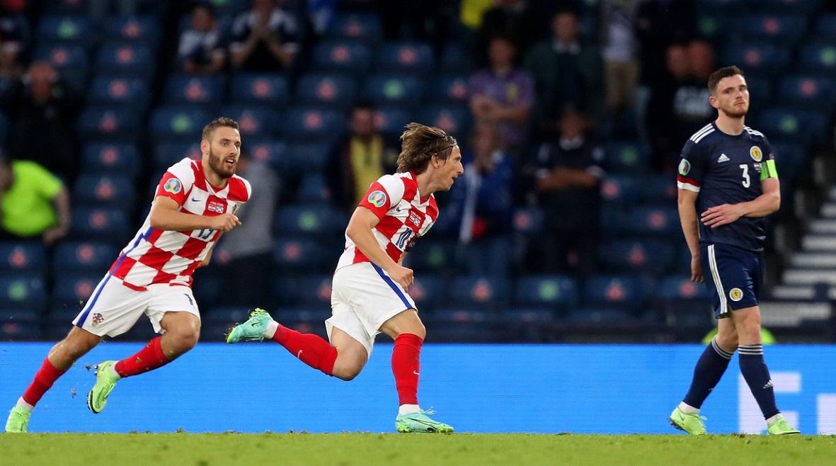 Luka Modric, golul serii la Euro 2020