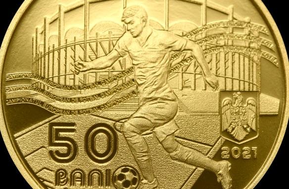 Monedă de 50 de bani dedicată Euro 2020! Cât costă moneda pe care o poţi folosi şi la piaţă