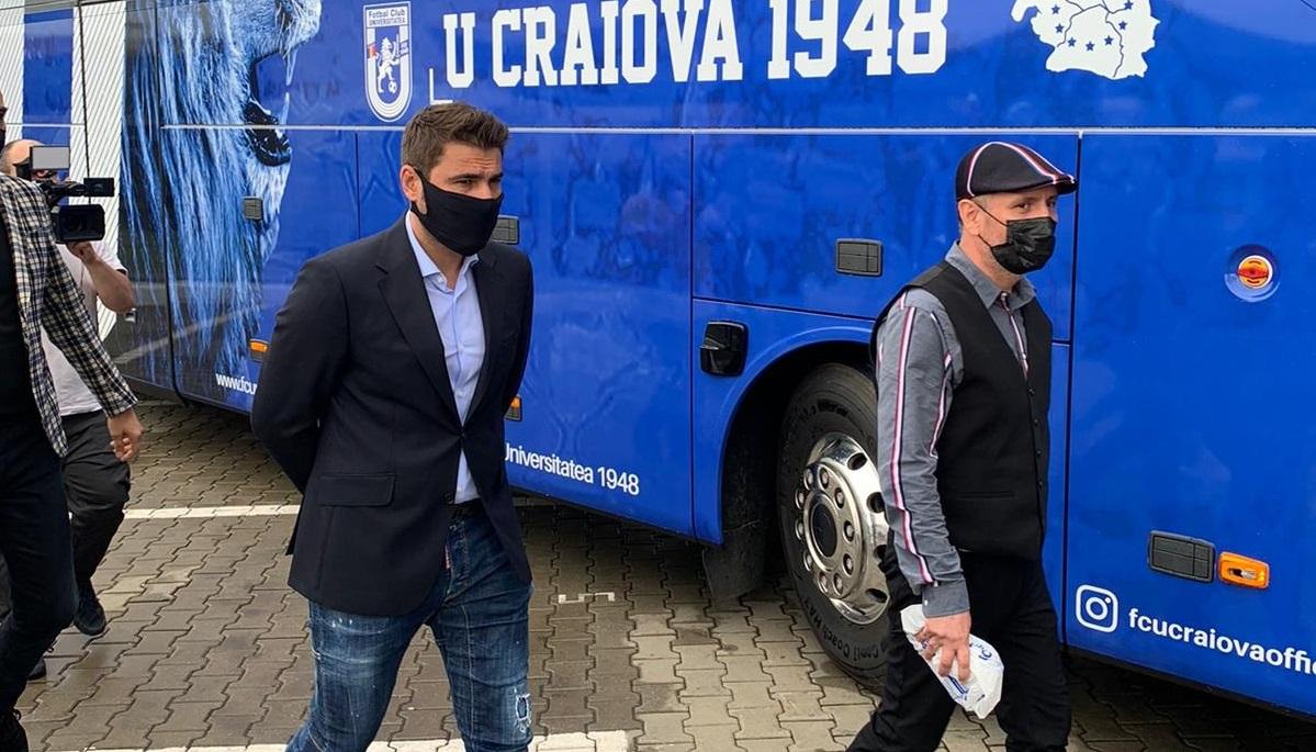 FC U Craiova, autocar de lux