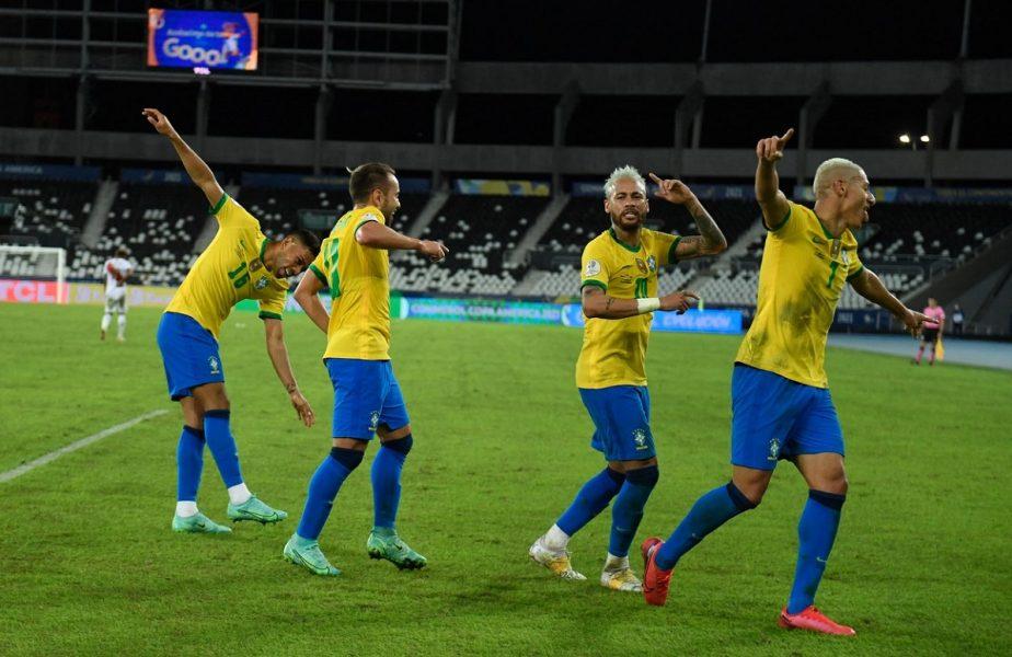 """Neymar a plâns după ce a făcut show la Copa America. Brazilianul a marcat şi a oferit un dribling fabulos. """"Am trecut prin multe!"""""""