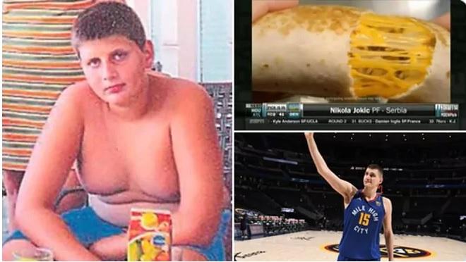 Dolofanul din imagine este MVP în NBA! A adormit când a fost draftat de Nuggets!!!
