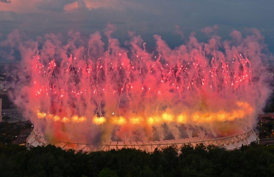 "Euro 2020   Stadio Olimpico din Roma a luat ""foc"" la ceremonia de deschidere. Imagini impresionante înainte de Italia – Turcia"