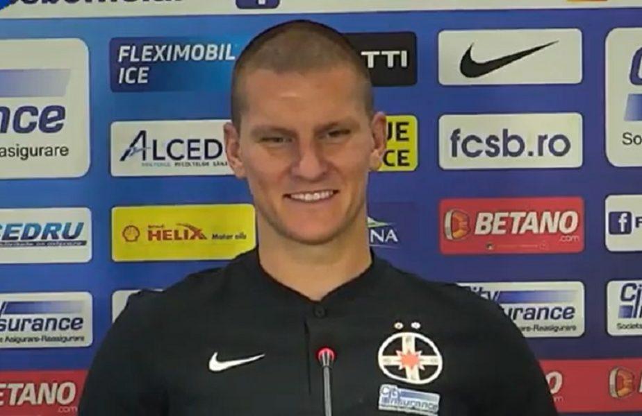 """Zdenek Ondrasek vrea să rupă plasele în Liga 1: """"Aveaţi nevoie de un nebun ca mine!"""" """"Cobra"""" a acceptat pe loc oferta lui Gigi Becali: """"Nu refuzi cel mai mare club din România"""""""