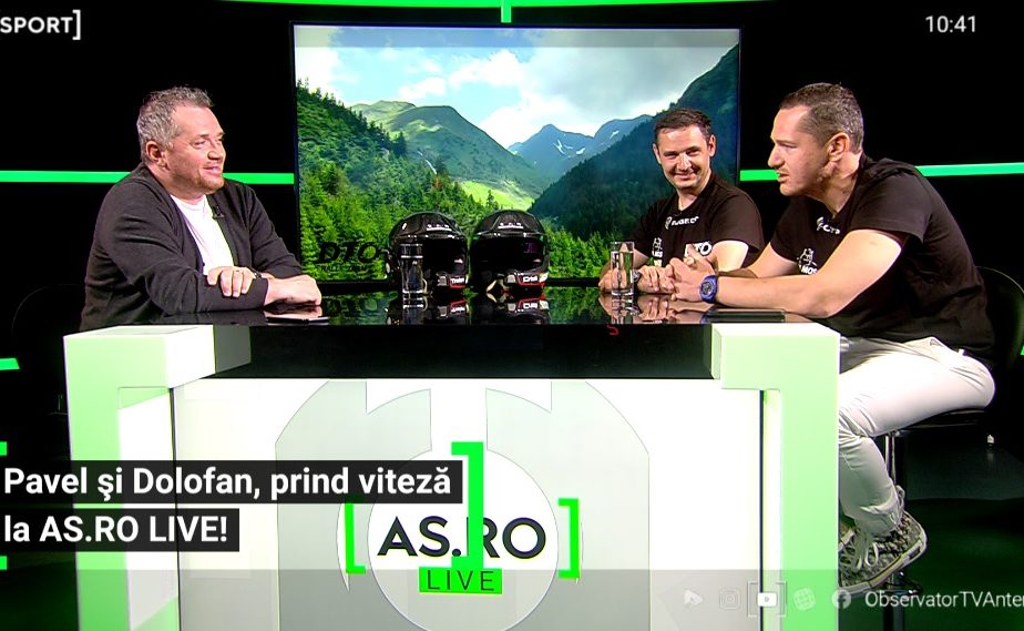 Traian Pavel și Cristi Dolofan au fost invitați la AS.ro LIVE