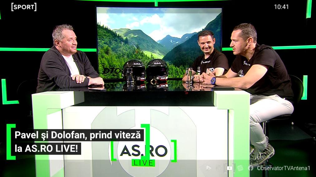 """EXCLUSIV AS.ro LIVE   """"Este un sport costisitor!"""" Prețul unei mașini pentru raliu! Traian Pavel și Cristi Dolofan sunt gata de """"Raliul Argeșului"""""""