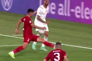 Italia cere penalty în meciul cu Turcia de la Euro 2020